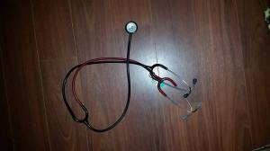 NURSING teaching stethoscope